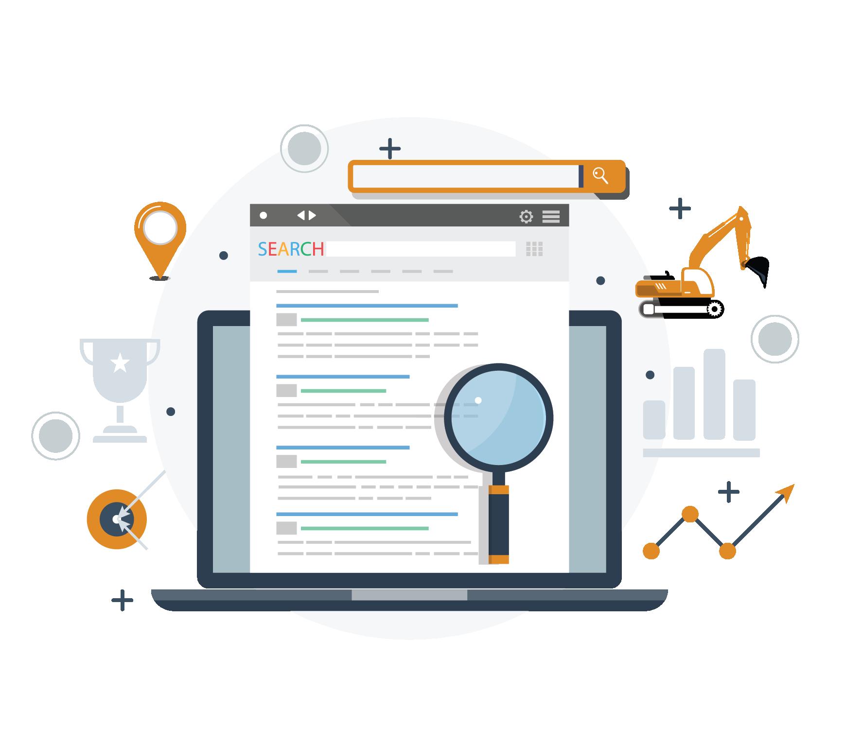 Construction-website-rank-google