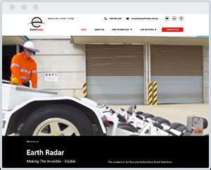 Earth-Radar-Construction-Website