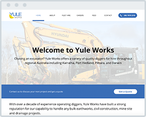 Yule-Works-Construction-Website