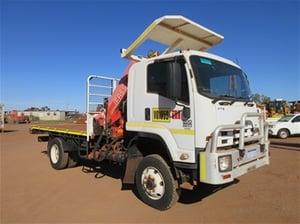 2011 Isuzu FTS800 4x4 Crane Truck - WA