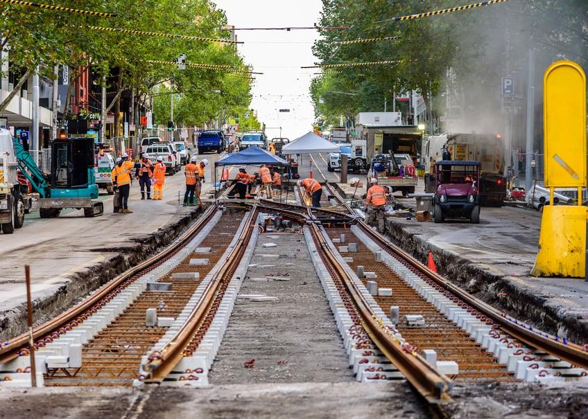 2020 melbourne rail construction