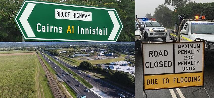 Bruce Highway Collage