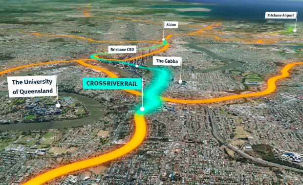 Cross-River-Rail-Map