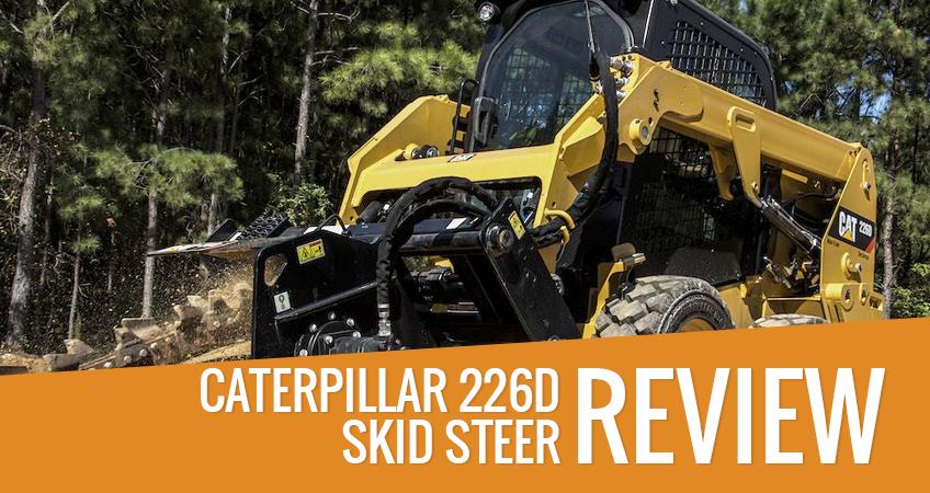 Caterpillar 226D Skid Steer Loader