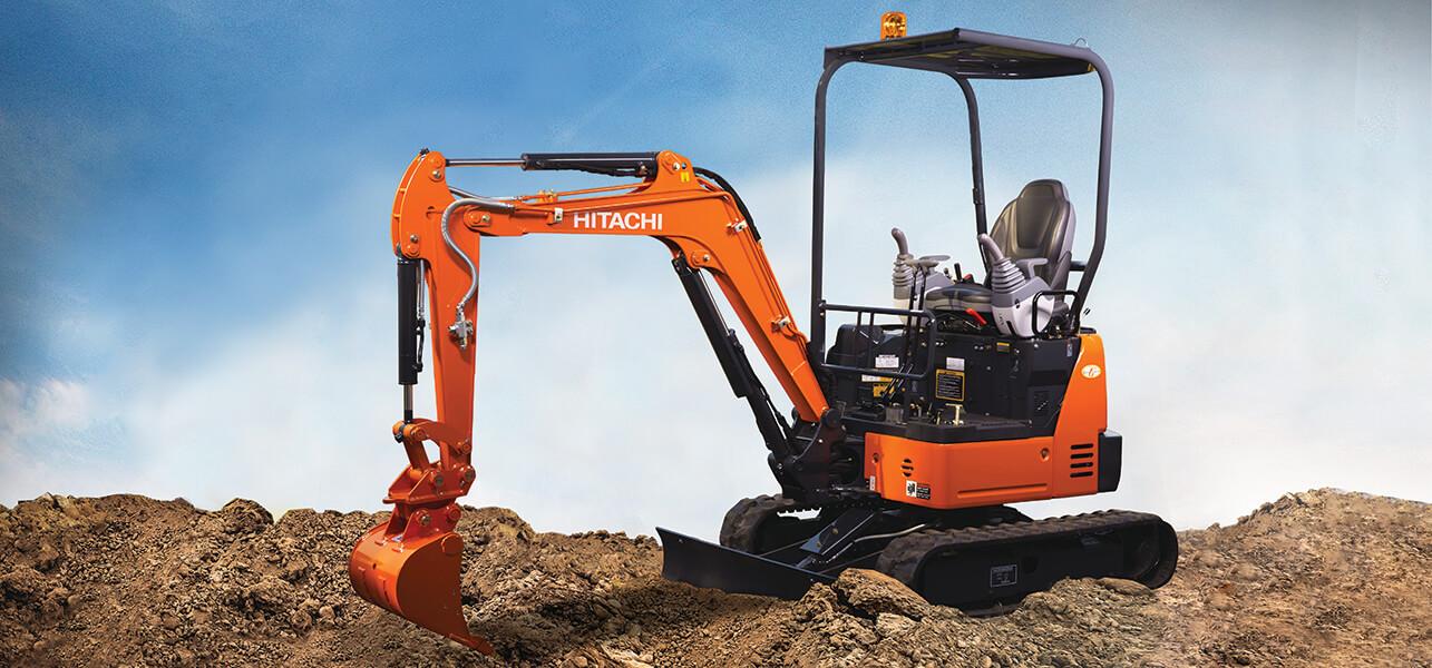 Hitachi Mini Excavators ZX17U-5-1
