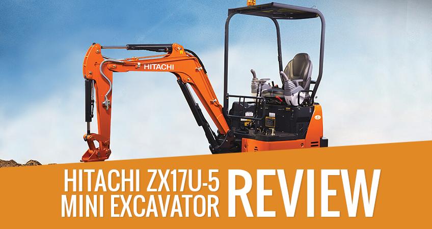 Hitachi Mini Excavators ZX17U-5