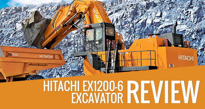 Hitachi EX1200-6 Excavator Review