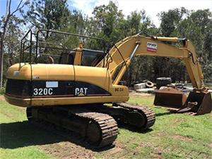 Caterpillar-320C-Hydraulic-Excavator