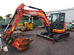 Kubota-U55-4-Hydraulic-Excavator