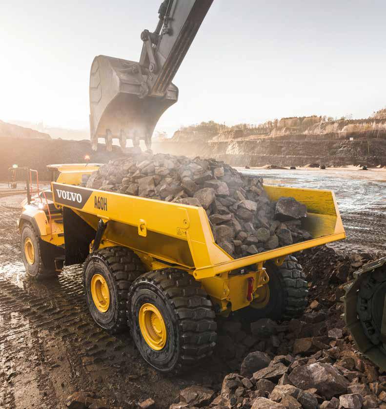 Volvo A60H Articulated Dump Truck