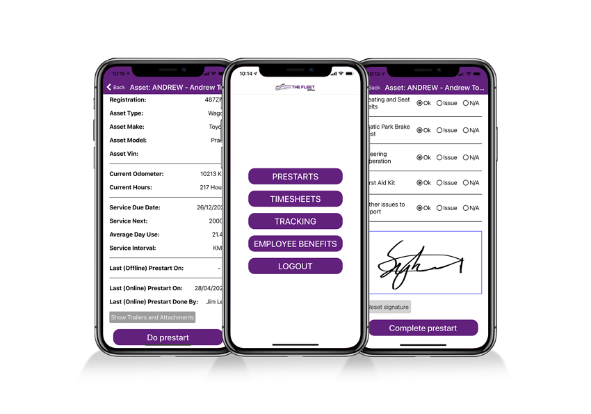 The Fleet Office app for asset management and more