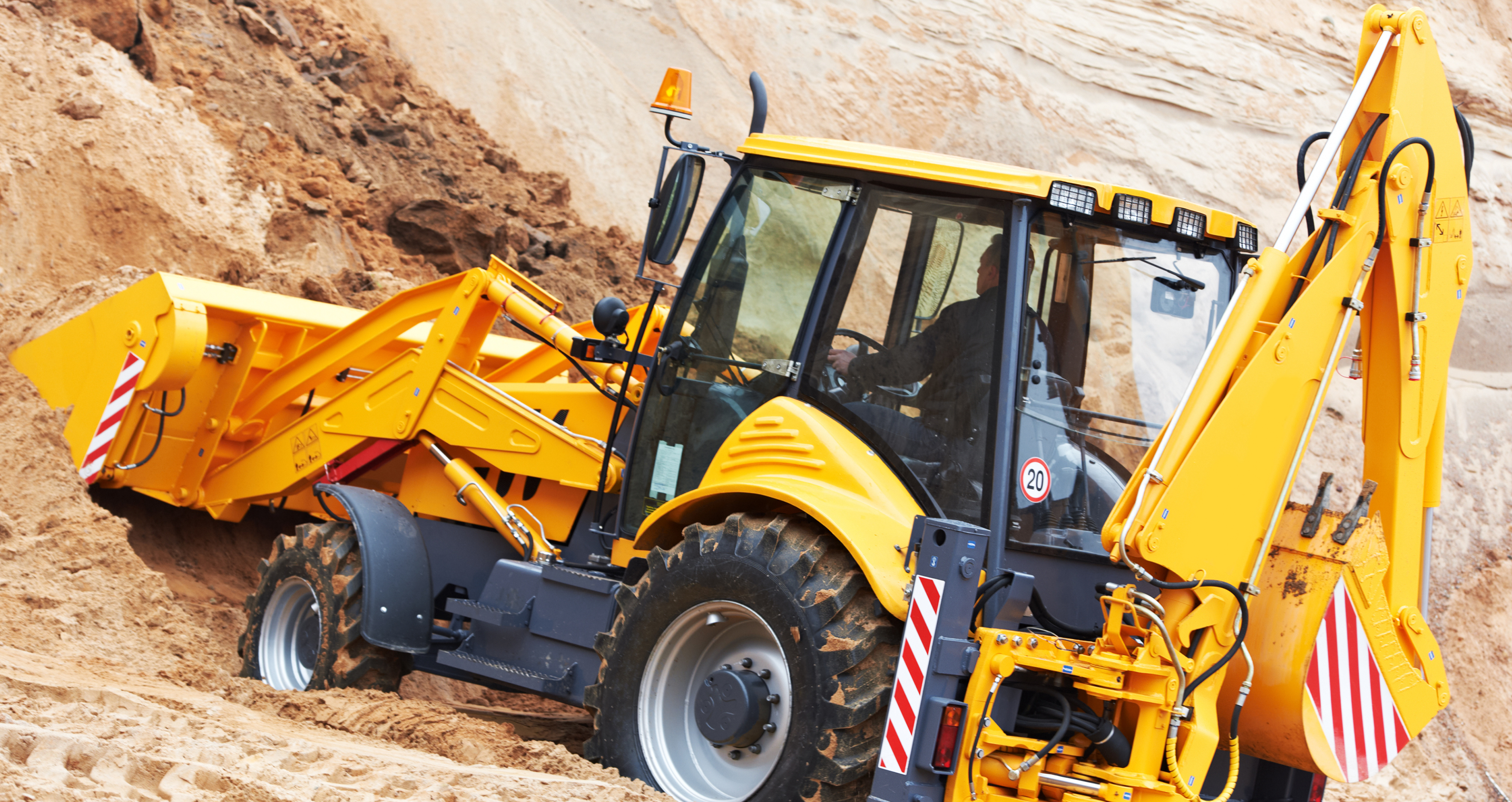 Backhoe hire rates