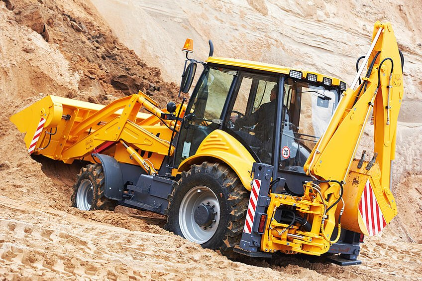 Backhoe hire