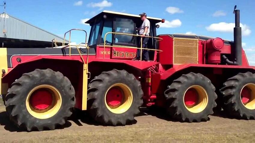 Big Roy: Versatile 8-WD Model 1080 Tractor