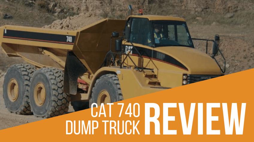 CAT 740 Articulated Dump Truck Review & Specs