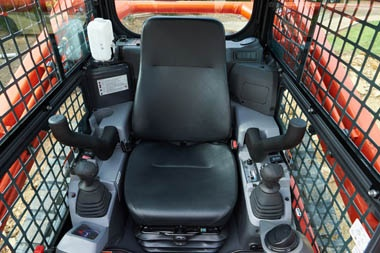 Kubota SVL75 cab Comfort