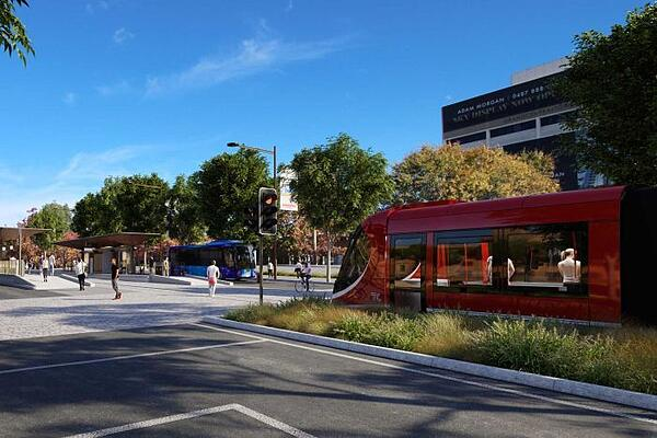 Commonwealth Park to Woden