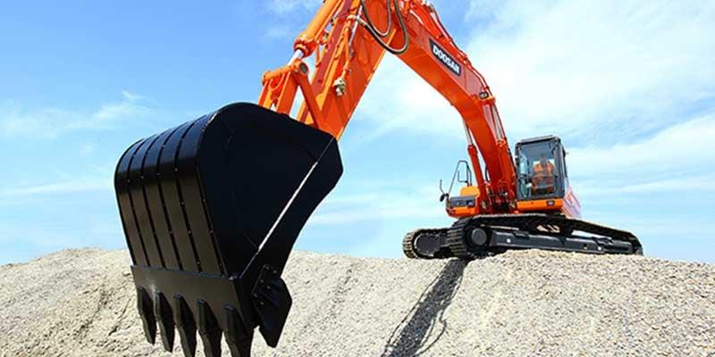 Doosan-infracore-excavator