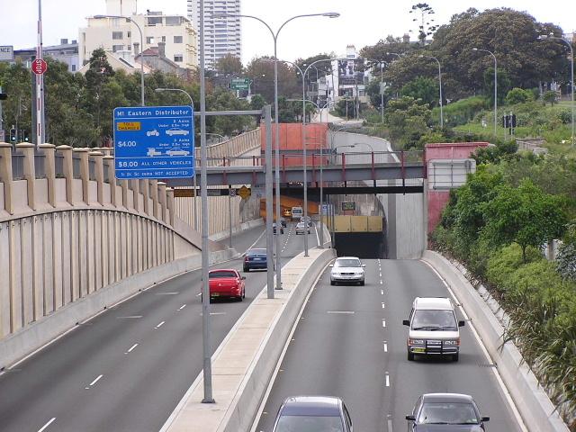 Eastern Distributor Tunnel