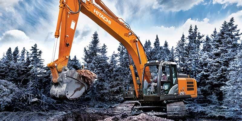 Hitachi-excavator