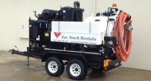 Vac Truck Rentals 1000L Unit for hire.