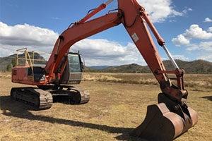 Excavators for sale at GraysOnline