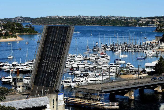 Spit Bridge Sydney's northern beaches