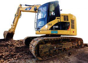 Boss Hire - Excavators for hire.