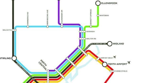 Metronet map