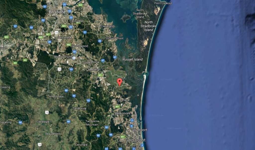 Norwell Valley Map- Bris Gold Coast