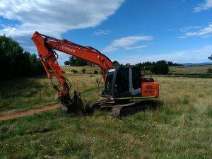 Shoemark Group excavator