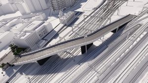 Sydney Yard Access Bridge