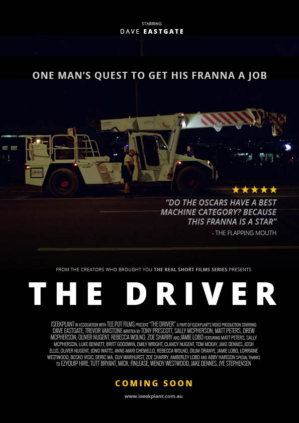 'The Driver' Movie Poster