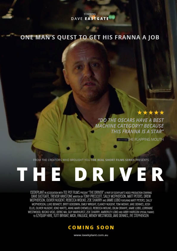 'The Driver' Movie Poster2