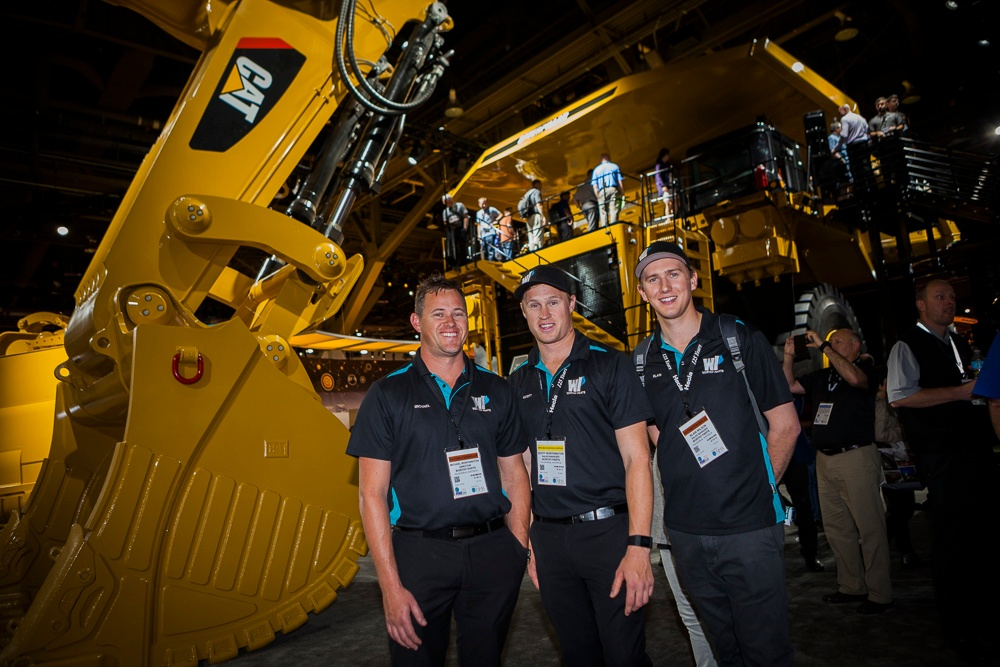 Worthy Parts at MINExpo International 2016 Director Michael Sale Team Scott and Blain