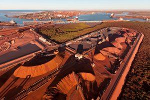 Port Hedland Pilbara iron ore mine