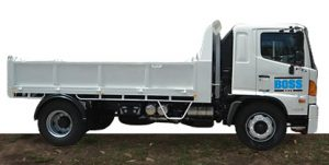 Boss Hire Tippers for hire.