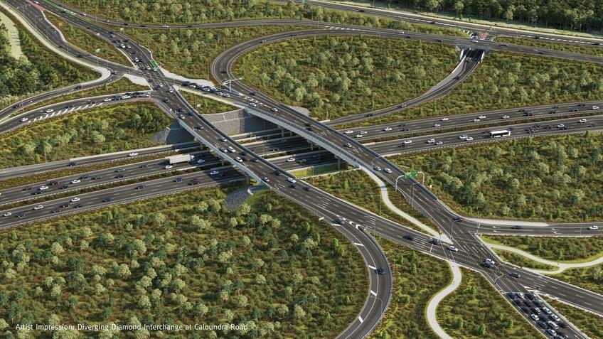 Bruce Highway- Deception Bay Road Interchange