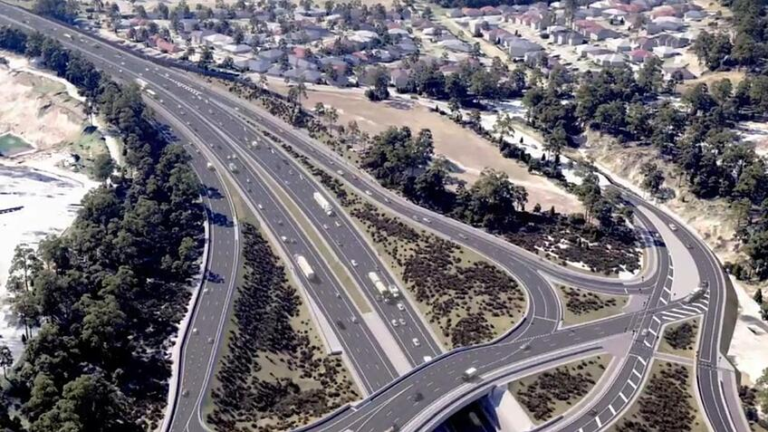 M1 Pacific Motorway- Varsity Lakes to Tugun