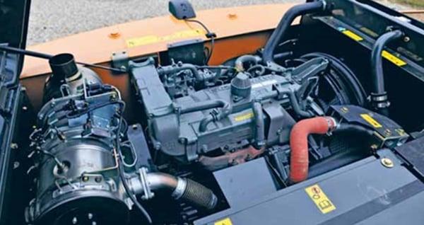 Isuzu-4-cylinder-engine-Case-CX210C-excavator