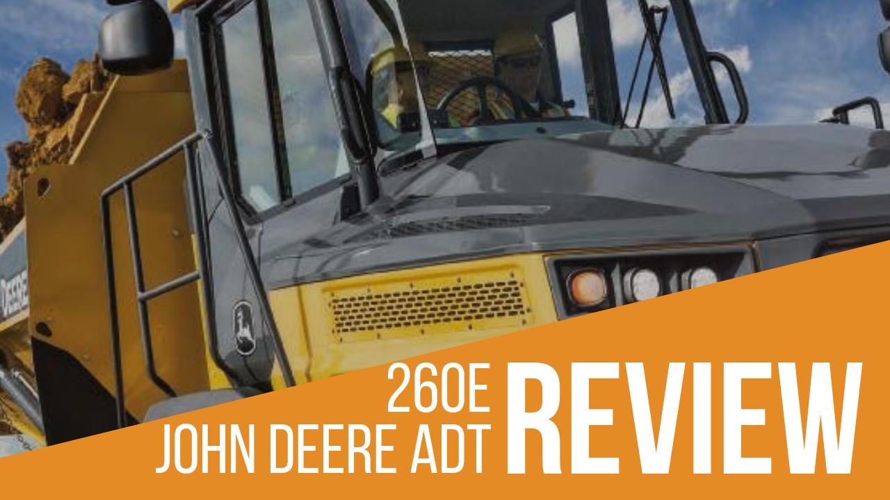 John Deere 260E ADT Banner