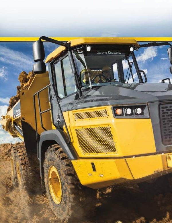 John Deere 260E Articulated Dump Truck 1