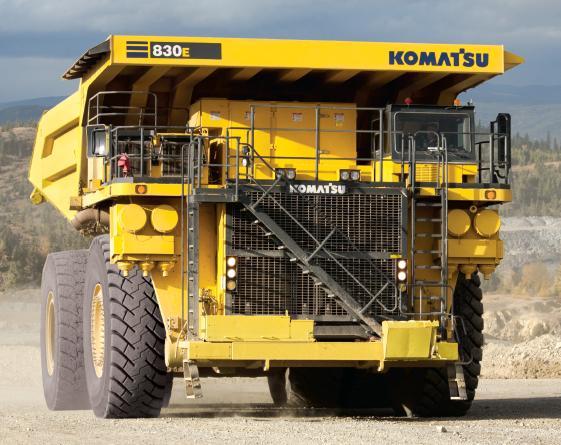 Komatsu 830E-1AC review