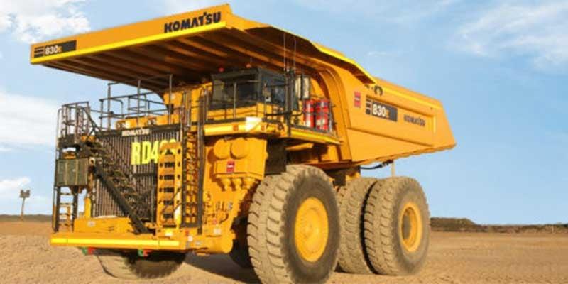 Komatsu-mining-truck