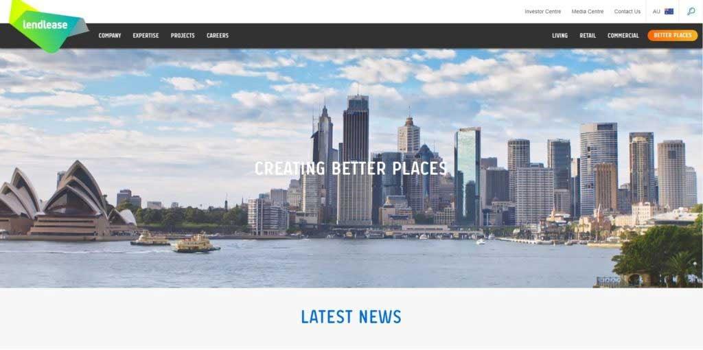 Lendlease-Website
