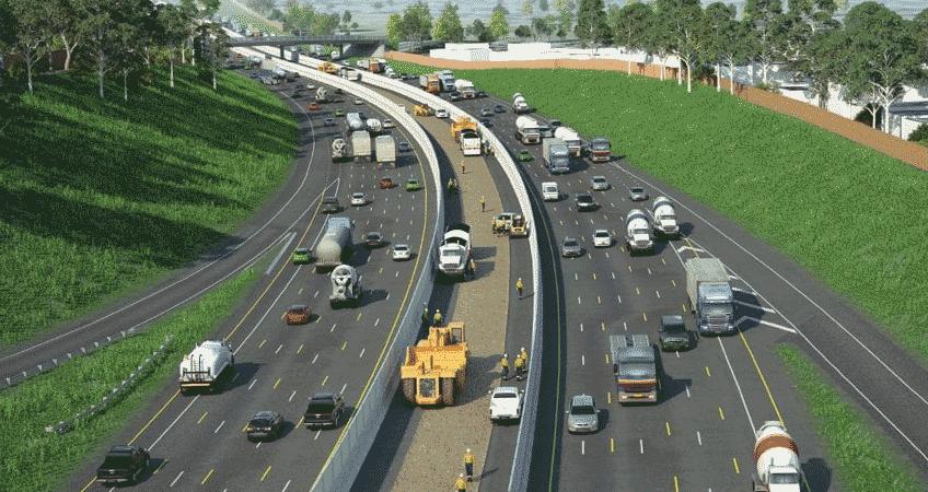 Monash Freeway Illustration