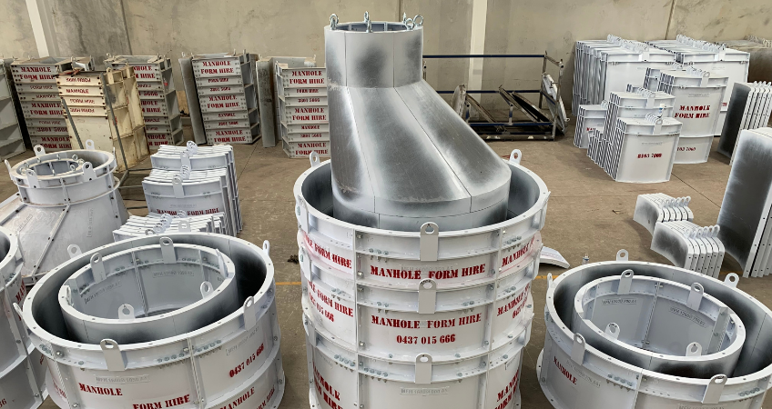 Manhole form Hire Tapered Forms