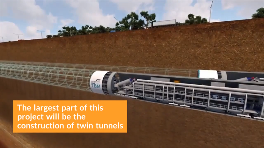 Melbourne's $5.5 Billion West Gate Tunnel has Received Final Approval