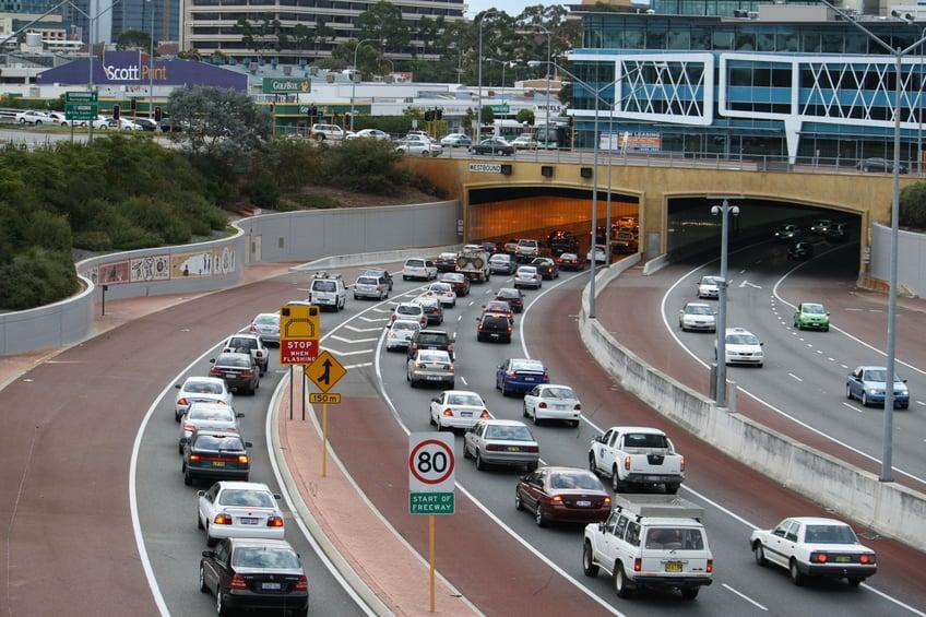 Northbridge Tunnel Perth - Graham Farmer Freeway