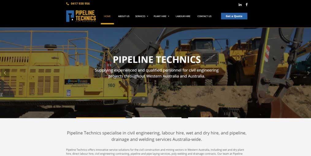 Pipeline-Technics-Website